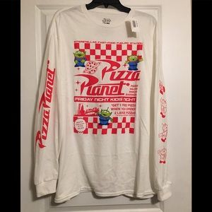 Disney  Pizza Planet Long Sleeve shirt